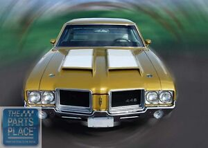 Details about 1971-72 Oldsmobile Cutlass 442 Ram Air W31 350 Appearance  Package Kit