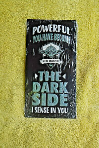 New Star Wars Yoda Jedi Master Embossed Metal Tin Collectible Sign THE DARK SIDE