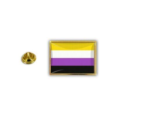 pins pin/'s flag national badge metal lapel button vest non binary rainbow pride