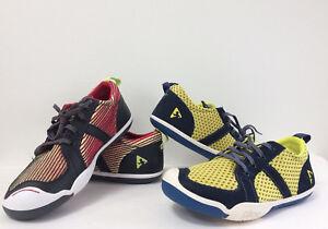 New Plae Kids Youth Miles Low Top Sneakers Textile Suede Leather 12k 1.5y 2y 3y