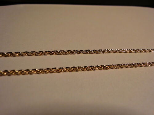 FASHION GOLD ROPE CHAIN 1 MM #1