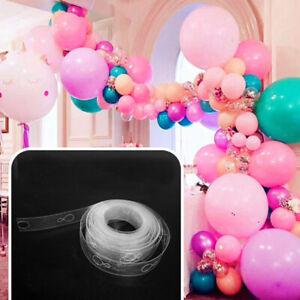 5M-Balloon-Arch-Decor-Strip-Connect-Chain-Plastic-DIY-Tape-Party-Supplies-E
