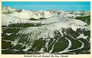 WB-Postcard-CO-H084-Unposted-Loveland-Pass-Ski-Area-Colorado-Denver-Hwy-6-Cooper