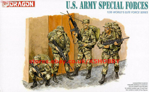 DRAGON 1//35 Modern Soldier and Tank Crew Figures