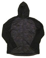 Mens Lululemon Pack-It Jacket Mesh Windbreaker Black Camo Camouflage sz XL