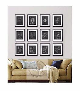 Image Is Loading Golf Wall Decor Set Of 12 Prints Black