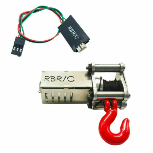 For 1//12 1//16 WPL MN RC 4-Channels Wireless Remote Controller Receiver Winch Set