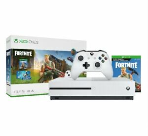 Microsoft Xbox One S Console 1TB - Fortnite Bundle