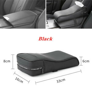 Car SUV Center Console Armrest Pad Cover with Tissue Storage Bag Armrest Cover