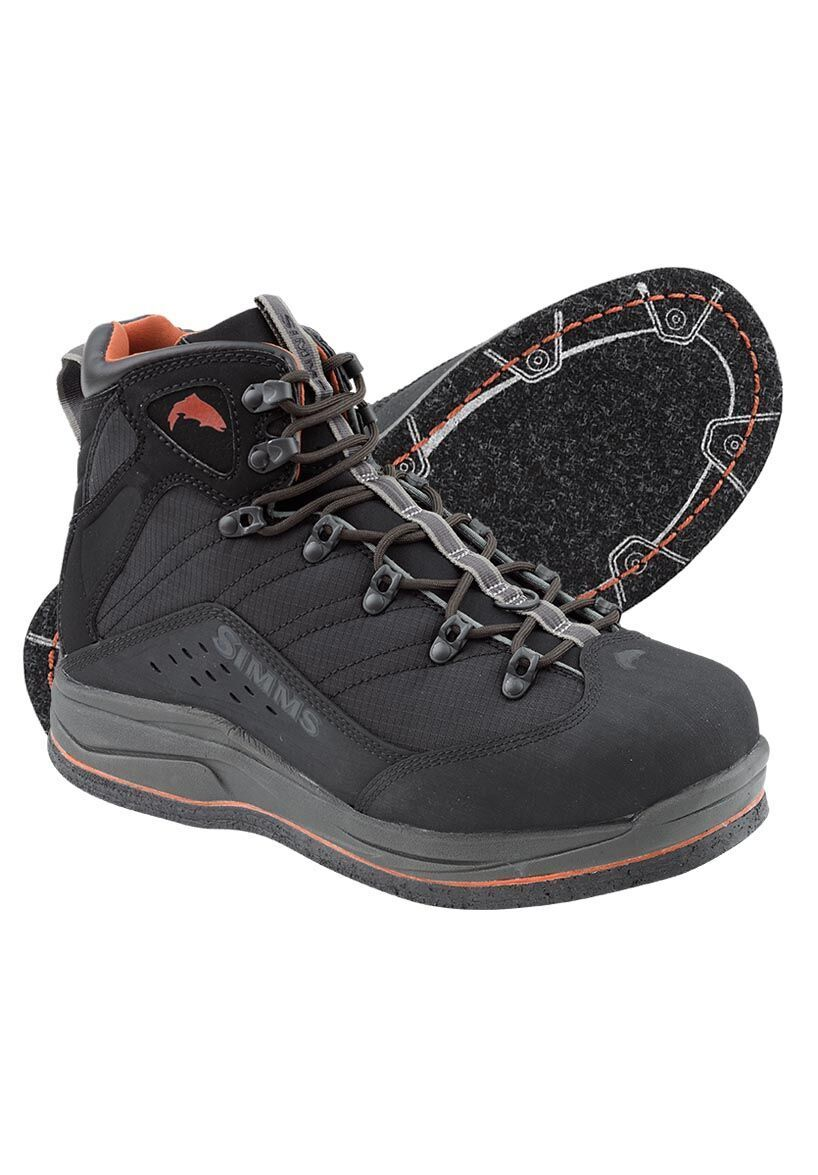 Simms Vapor Boot Felt  Coal NEW  Size 7   CLOSEOUT  hot sports