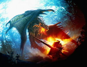 "001 Monster Hunter - Moster Fight Game 31""x24"" Poster"