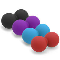 Peanut Ball Double Lacrosse Ball For Trigger Point Massage Physical Therapy