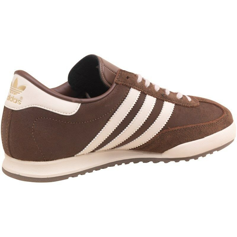 ADIDAS ORIGINALS BECKENBAUER BROWN BROWN BROWN CLASSIC RETRO STYLE TRAINERS MENS UK SIZES ffc802
