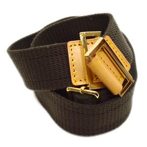 LOUIS-VUITTON-Logos-Shoulder-Strap-Brown-Canvas-Handbag-Accessories-T04732