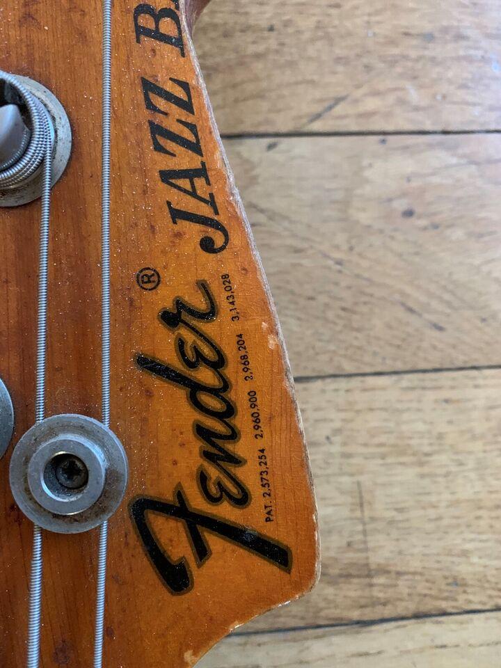 Elbas, Fender (US) Fender Jazz Bass