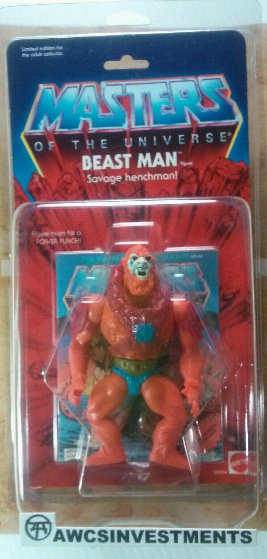 Er mann   motu 80er gedenk beastman   comic - w zoloworld fall (siehe bilder)