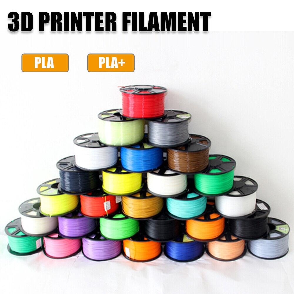 3D Printer Filament PLA PLA+ 1.75mm 1KG High Temperature Spool Printing Colours