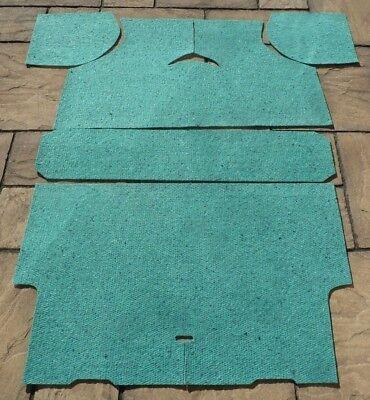 MINI CLASSIC AUSTIN//MORRIS//RILEY ELF//WOLSELEY HORNET 5 PART CARPET UNDERFELT KIT