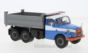 1977-1:43 Ixo ixotru 034 * New * Tatra t 148 s3 camiones de volteo azul//gris