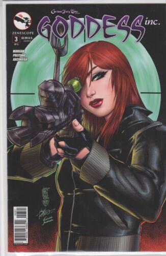 GFT GODDESS INC #3 Cover B VF//NM Zenescope Comic Vault 35