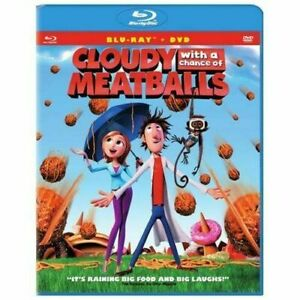 Cloudy with a Chance of Meatballs (Blu-ray, DVD, Digital Copy, 2009) - NEW