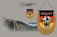 Germany Soccer Flag Car Mini Banner, Pennant