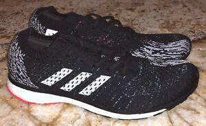 best service 207de 8d1c5 Image is loading ADIDAS-Adizero-Prime-LTD-Black-White-Training-Running-