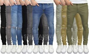 Jack-amp-Jones-Men-039-s-Liam-Skinny-Stretch-Jeans-amp-Ripped-Chinos-BNWT