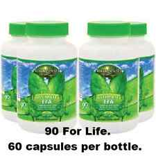 YOUNGEVITY ULTIMATE EFA, QV 4-pack 60 Soft Gels each. Omega 3,6,9. Dr Wallach