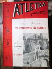Atletica pesante - Anno I, n. 7, novembre 1953 - Rimini, VII Congresso Nazionale