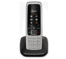 Siemens Gigaset C430 / C 430  schnurlos analog Telefon schwarz