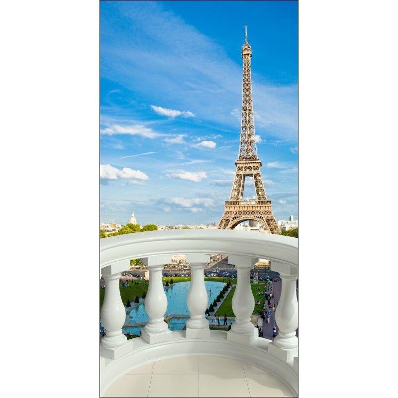 Aufkleber Deko Schein Auge - Paris Eiffelturm 1533