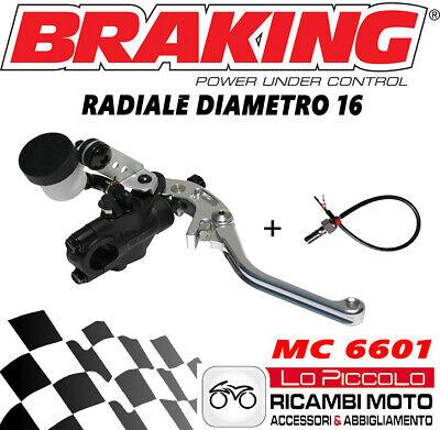 KTM DUKE 690 MC6601 POMPA FRENO BRAKING RADIALE COMPLETA