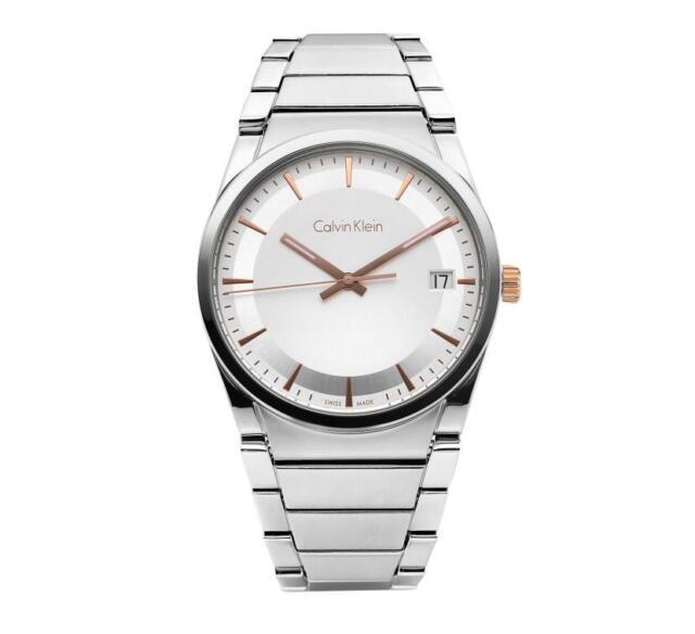 Calvin Klein STEP K6K31B46 Stainless Steel 38mm Men's Watch Swiss made