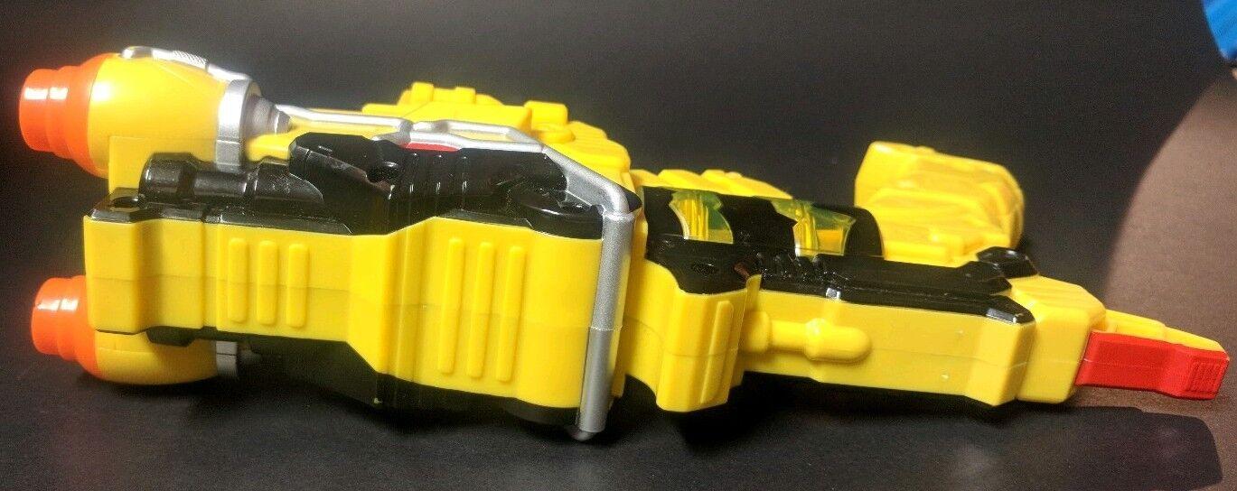 Power Rangers Dino Dino Dino SuperCharge Yellow Morpher Gun 8f9aa9