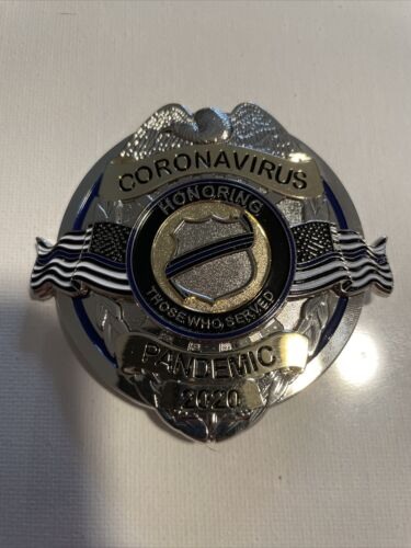 commemorative Pandemic Full Size Badge Non Issued