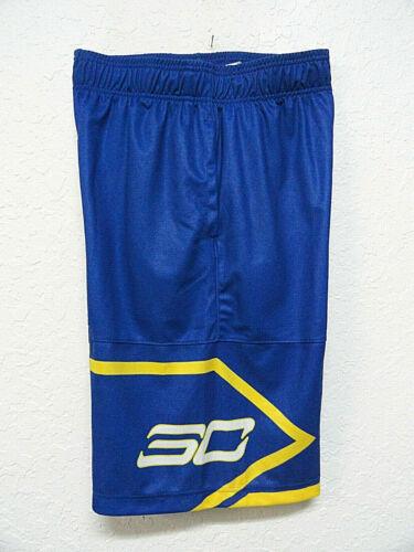 Under Armour Mens HEATGEAR Stephen Curry Basketball Shorts Navy//Yellow Sz Small