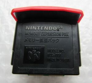 Authentic-Official-Nintendo-64-N64-Red-Video-Game-Memory-Expansion-Pak-Ram-GREAT