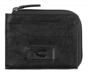 best service a776a ee577 Details about Camel Active Panama Card Coin Case Credit /Business Card Case  Geldborse Black