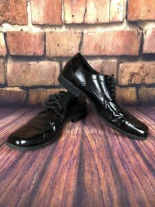 Stacy-Adams-Mens-Size-12M-Black-Leather-Oxford-Lace-Up-Dress-Shoes