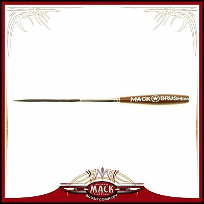 Andrew Mack Long Bob Pinstriping /& Scrolling Brush Series LB Sizes 000 Outliner