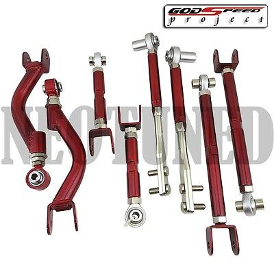 GODSPEED FOR 95-98 240SX S14 S15 CAMBER+TENSION+TRACTION+TOE SUSPENSION