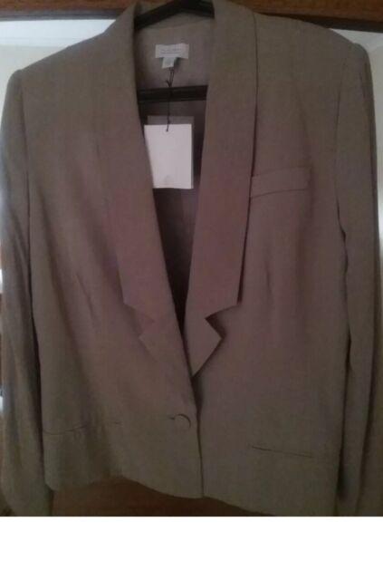 WITCHERY JACKET BNWT Nougat colour Size 12 RRP $199.95