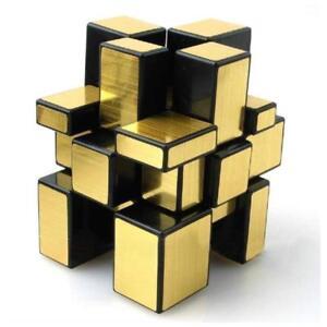 Golden Mirror Cube 3x3x3 Speed Cube Gold Mirror Blocks Puzzle Abs Ultra Smooth Ebay