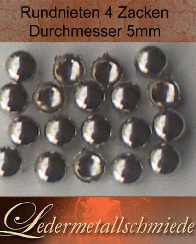 100 unidades aproximadamente tachuelas 5mm remaches decorativos Gothic punk