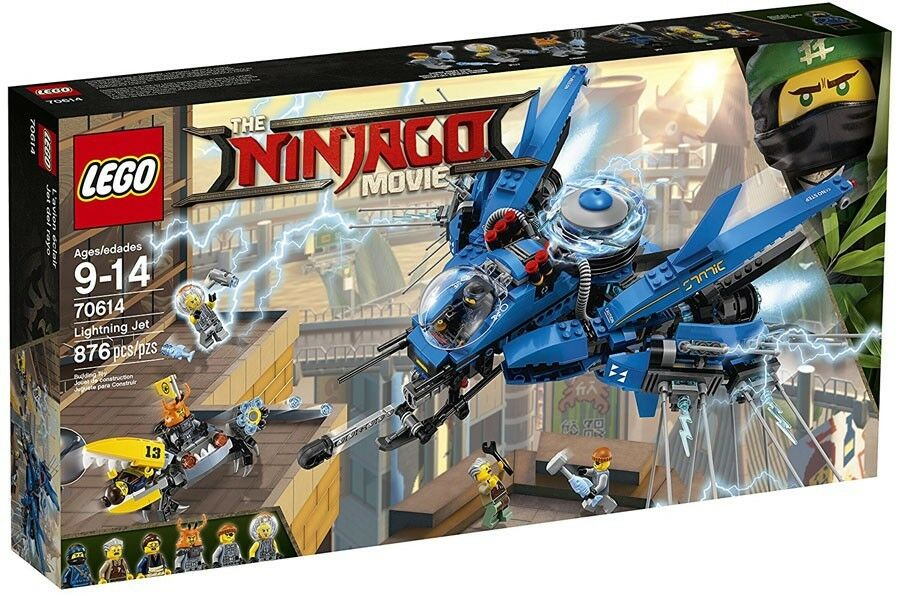 LEGO The Ninjago Movie Lightning Jet Set    70614 2f770a