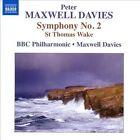 Peter Maxwell Davies: Symphony No. 2; St. Thomas Wake (CD, Apr-2012, Naxos (Distributor))