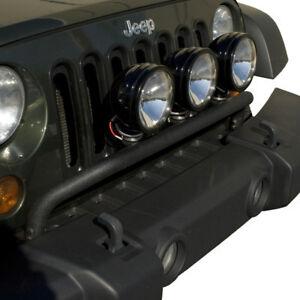 Details about 2007 2015 jeep wrangler jk front bumper mounted light bar mopar 123220rr image is loading 2007 2015 jeep wrangler jk front bumper mounted aloadofball Image collections