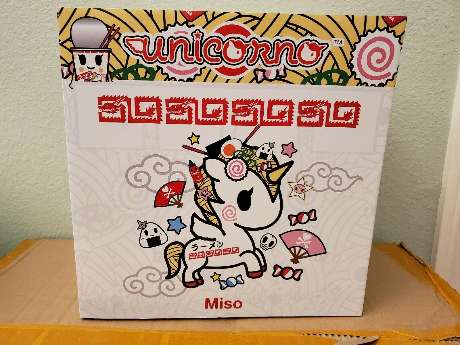 Tokidoki Unicorno Miso 10  Vinyl Statuette SDCC 2019 exclusive IN HAND