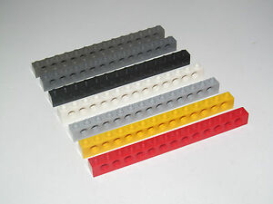 Lego ® Technic Barre Perforée 1 x 15 Brick Beam Hole Choose Color ref 32278